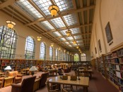 The Lane reading room.