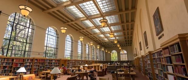 The Lane reading room.